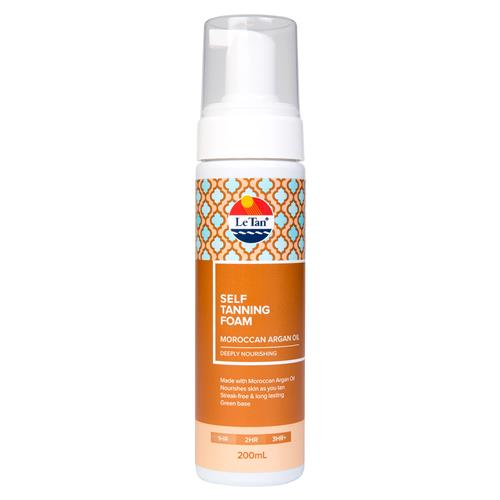 MOROCCAN ARGAN OIL SELF TANNING FOAM 200ML