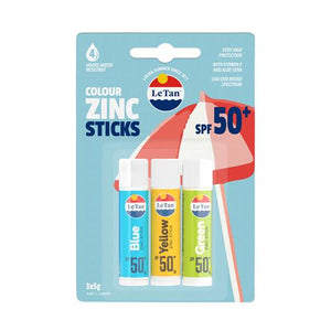 ZINC STICKS TRIO SPF50+ 15G