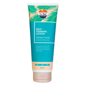 COCONUT WATER SELF TANNING LOTION 200ML