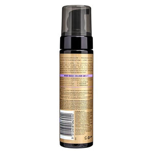UBER GLOW FOAMED OIL SELF TANNING FOAM VIOLET BASE 200ML