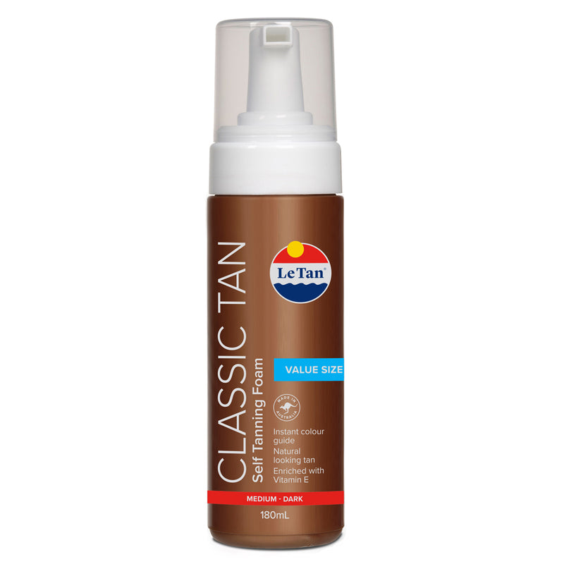 CLASSIC MOUSSE - MEDIUM/DARK 180ML