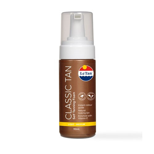 LE TAN CLASSIC FOAMING MOUSSE - LIGHT-MEDIUM 110ML