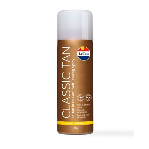 CLASSIC SPRAY - LIGHT/MEDIUM 150G