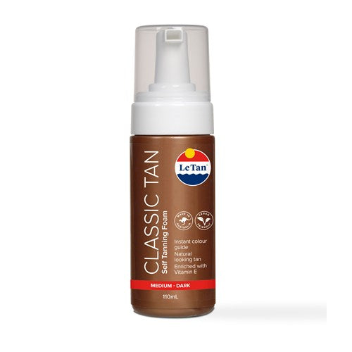 FOAMING MOUSSE DEEP BRONZE 110ML
