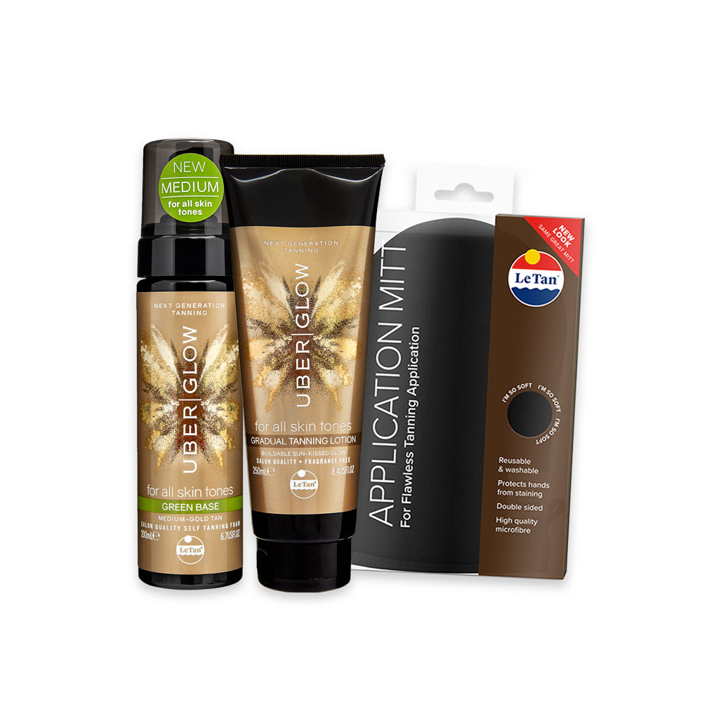 Glow Up Tanning Pack - Green
