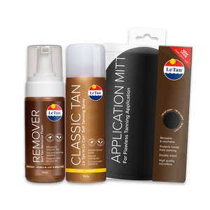 Classic Spray Tanning Pack - Light/Medium