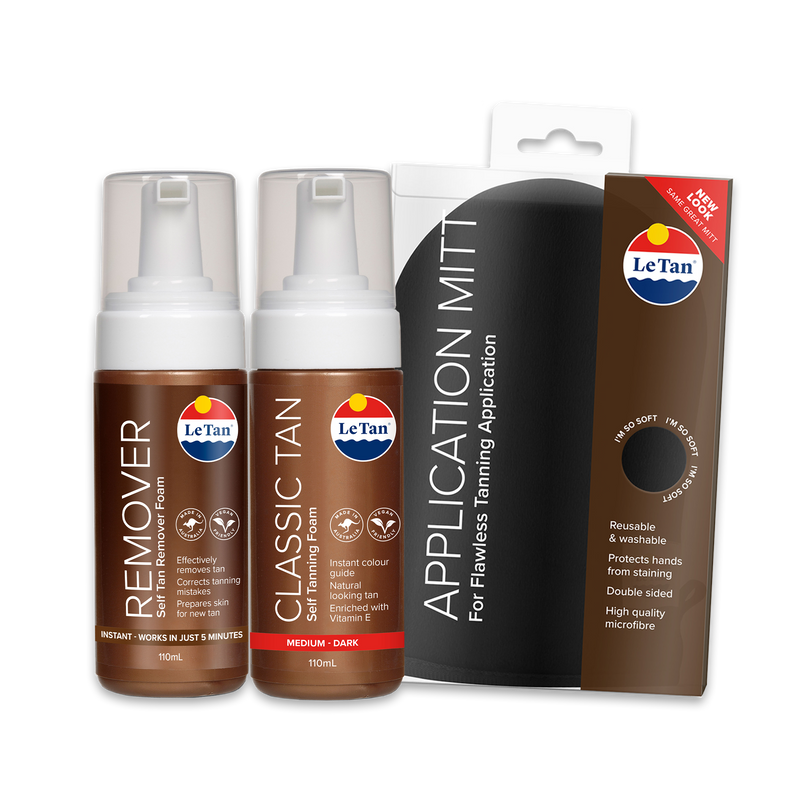 Classic Mousse Tanning Pack - Medium/Dark