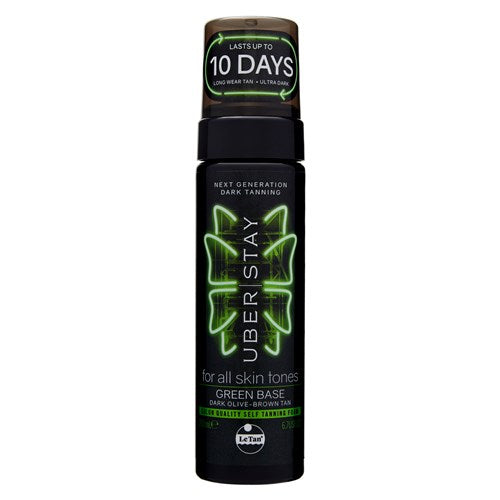 UBER STAY SELF TANNING FOAM GREEN BASE 200ML