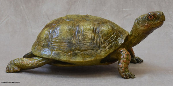 Box Turtle Bronze by Jim Eppler