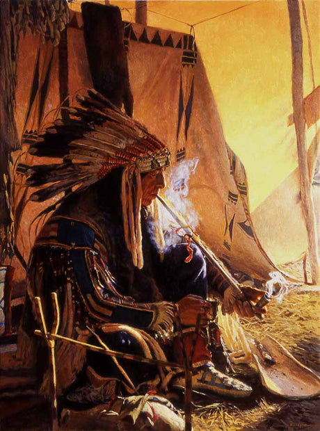 Fire of the Great Spirit giclee by David Yorke