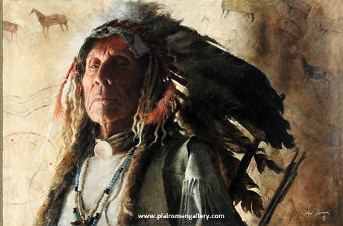 "John Coleman Giclee ""First Chief"""