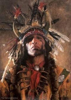 "John Coleman Giclee ""Holy Man of the Buffalo Nation"""