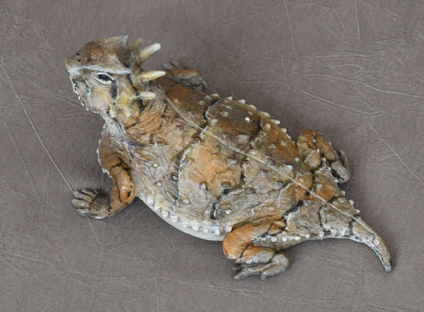 "Jim Eppler Bronze ""Horned Toad"""