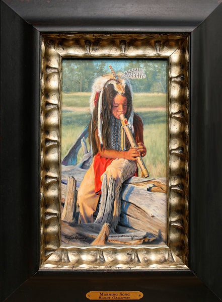 "Randy Galloway Painting ""Morning Song"""