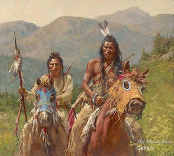 Mystery of the Medicine Horse Mask by Howard Terpning
