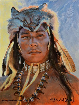 Sioux Brave Giclee by David Yorke