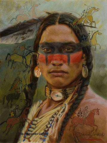 "David Yorke Giclee ""Visions of a Warrior"""