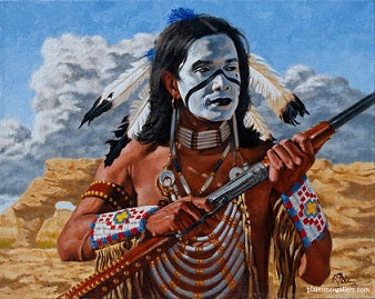 War Paint giclee by Howard Terpning