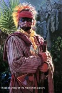 """Seminole Warrior"" giclee by David Yorke"
