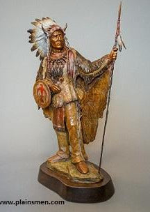 Sitting Bull Bronze by Ed Natiya
