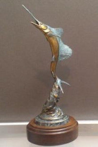 "Geoffrey Smith Bronze ""Stuart Sailfish"""