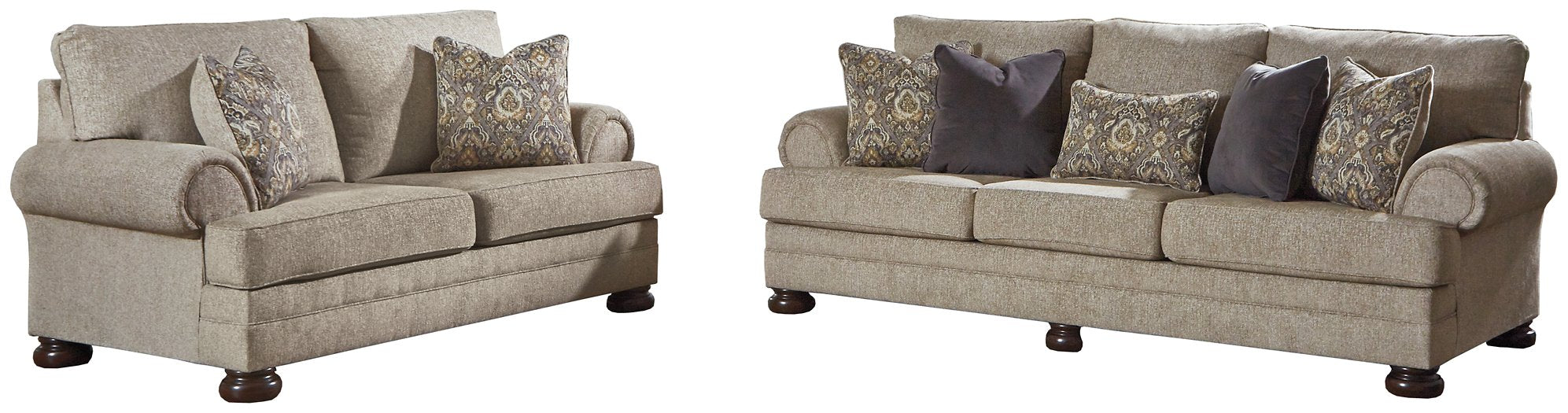 Kananwood Signature Design 2-Piece Living Room Set