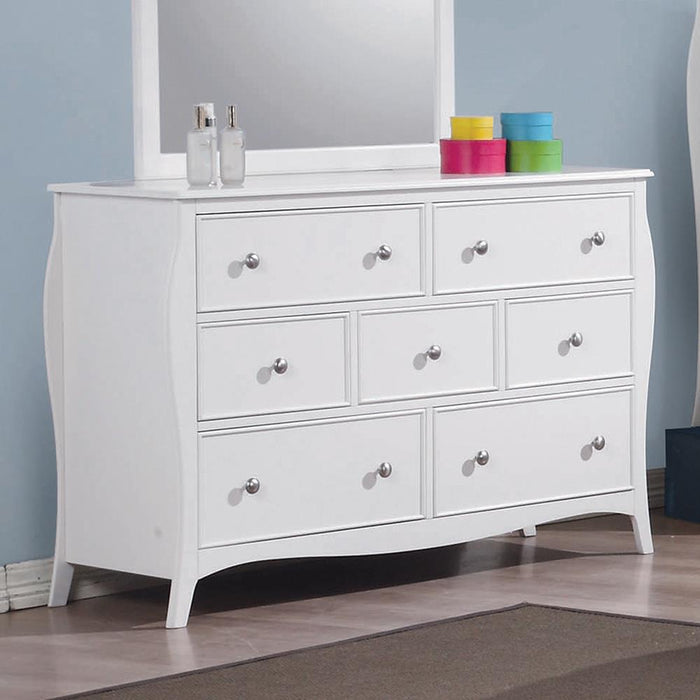 Dominique French Country White Dresser