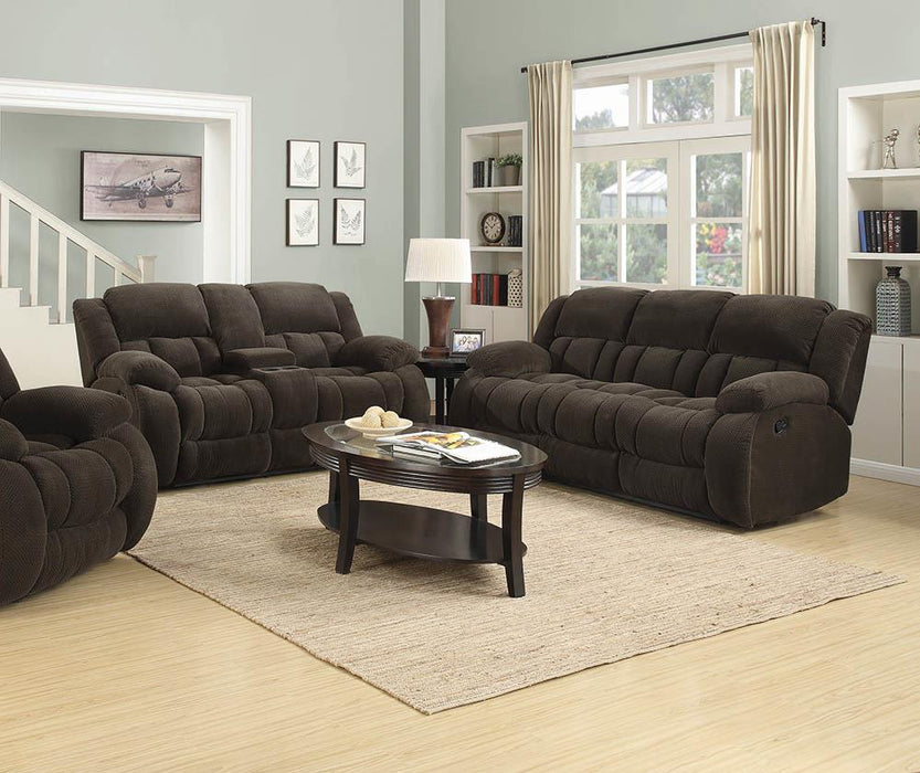 Weissman Brown Two-Piece Living Room Set