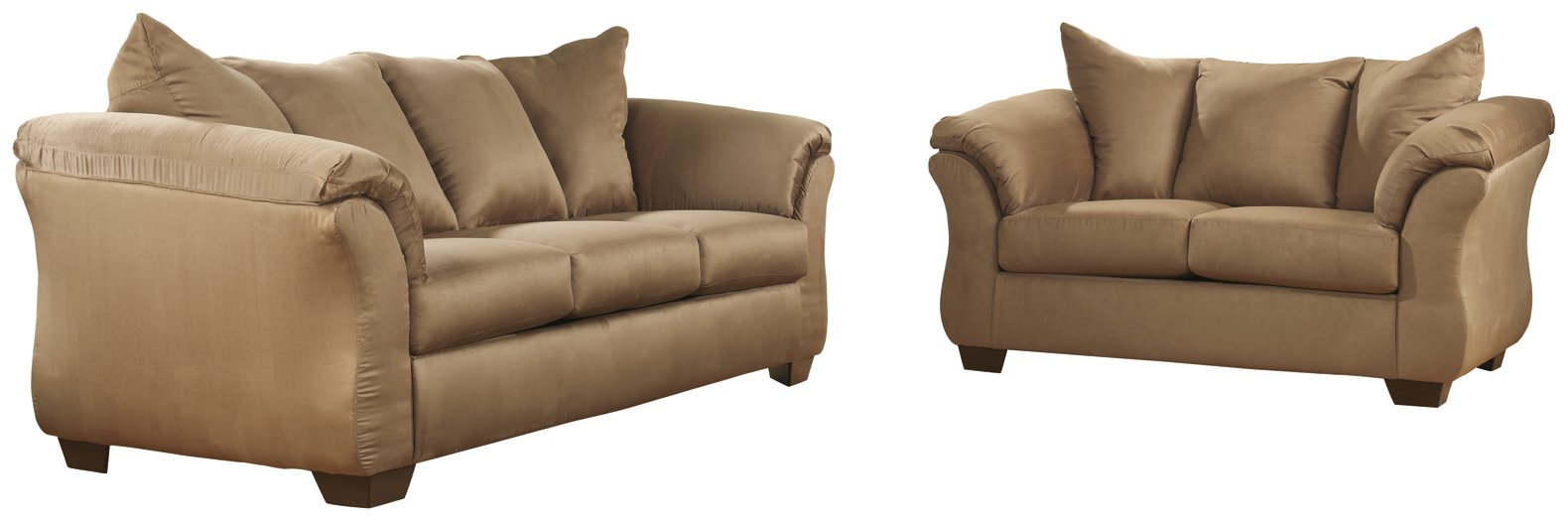 Darcy Signature Design 2-Piece Sofa with Loveseat Set