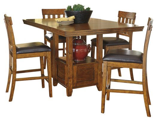 Ralene Signature Design Counter Height 5-Piece Dining Room Set