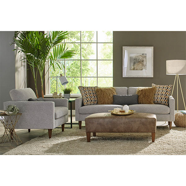 Trafton Collection STATIONARY SOFA W/2 PILLOWS