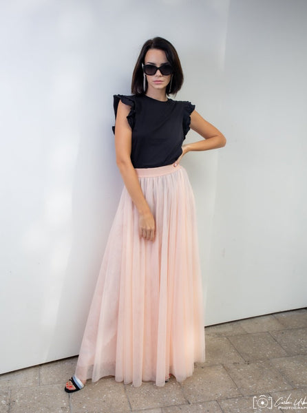 Gala Powder Tulle skirt
