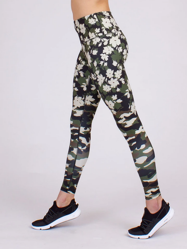 Blenging In With Nature Yoga Leggings