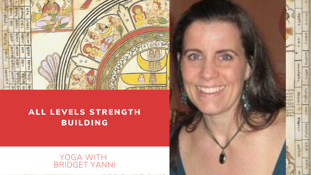 Friday 10 AM EST - All levels Strength Building with Bridget