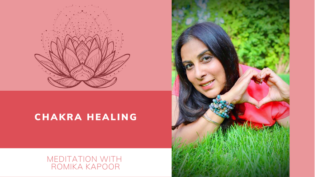 Tuesday 11:00 AM EST - Chakra Healing with Romika