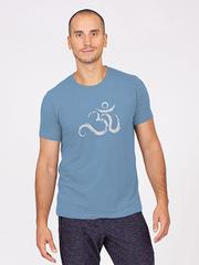 The Men's Ohm Tee Washed Denim