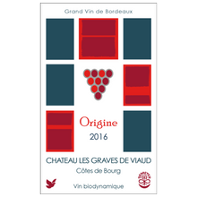 Upload the image to the gallery, Origine 2016 - Château Les Graves de Viaud - The Colombine