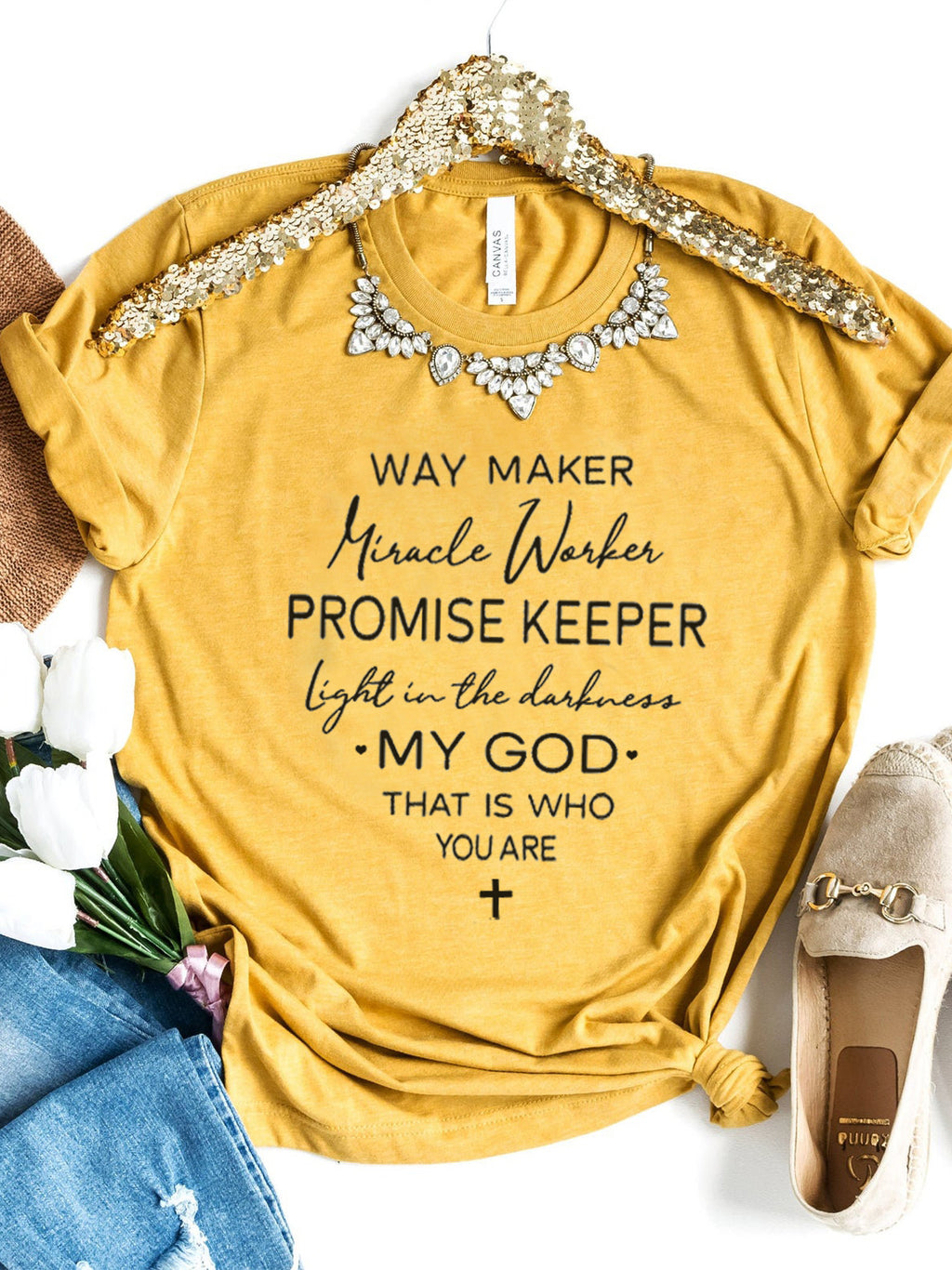 Way Maker Lyrics Faith's T-Shirts