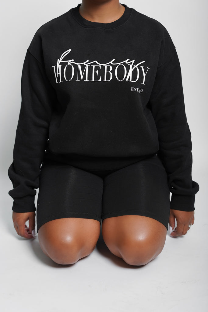 Signature Luxe|| Fancy Homebody Crewneck Sweatshirt