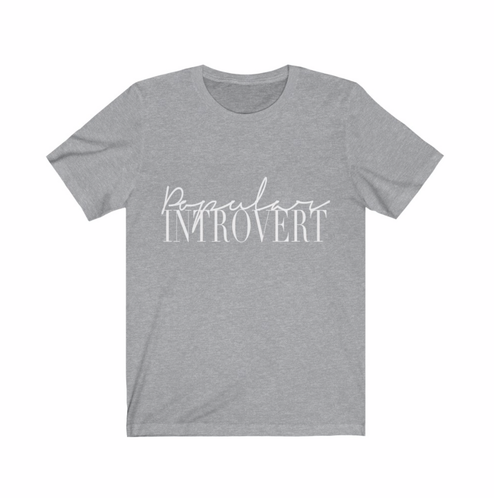 Signature | Popular Introvert Tee
