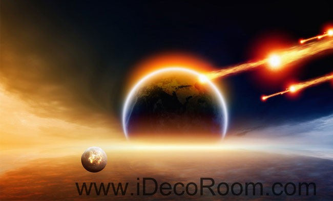 Planet Outer Space Comet 00061 Ceiling Wall Mural Wall Paper Decal Wall Art  Print Decor Kids