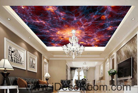 Image of Universe Explosion 00067 Ceiling Wall Mural Wall paper Decal Wall Art Print Decor Kids wallpaper