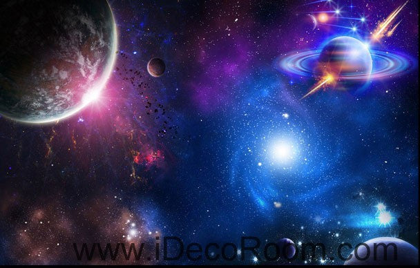 Planet Galaxy Earth Ourter Space 00071 Ceiling Wall Mural Wall Paper Decal  Wall Art Print Decor Part 75