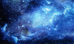 Galaxy Stars Night Sky 00075 Ceiling Wall Mural Wall paper Decal Wall Art Print Decor Kids wallpaper