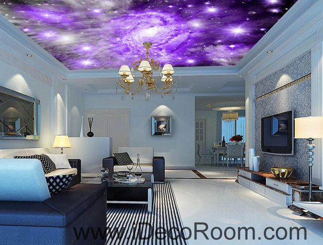 Star Nubela Clouds 00080 Ceiling Wall Mural Wall paper Decal Wall Art Print Decor Kids wallpaper