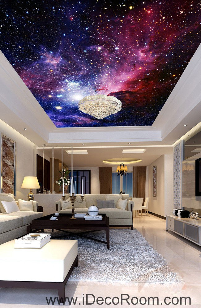 galaxy nubela outerspace 00081 ceiling wall mural wall paper decal wal idecoroom. Black Bedroom Furniture Sets. Home Design Ideas