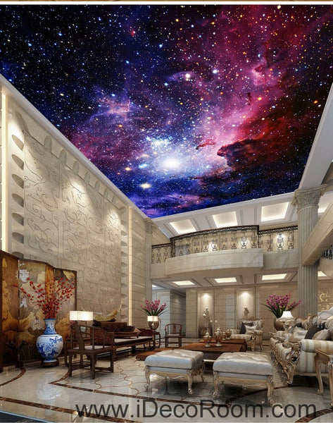 Galaxy nubela outerspace 00081 ceiling wall mural wall paper decal wal idecoroom Home decor wallpaper bangalore