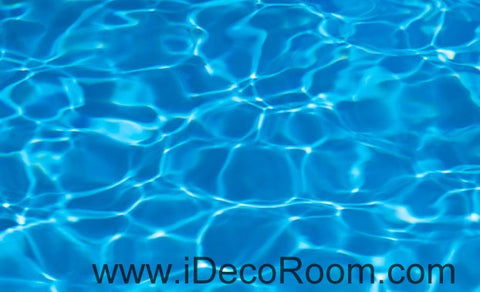 Image of Clear Blue Water 00096 Ceiling Wall Mural Wall paper Decal Wall Art Print Decor Kids wallpaper