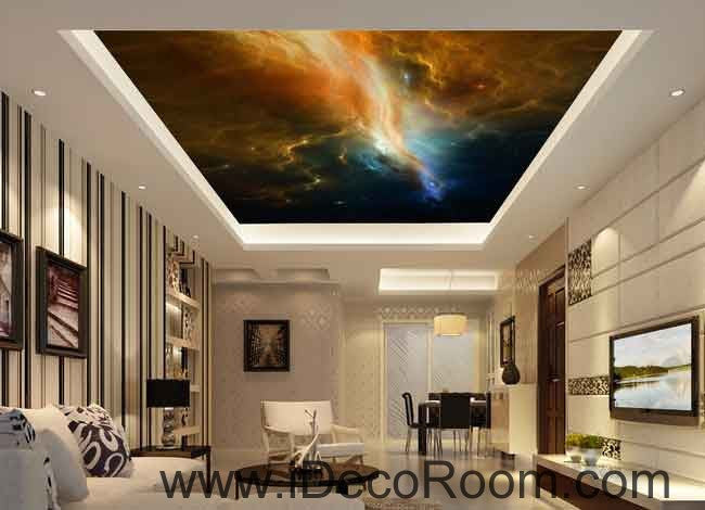 Nebula Star Night Universe Wallpaper Wall Decals Wall Art