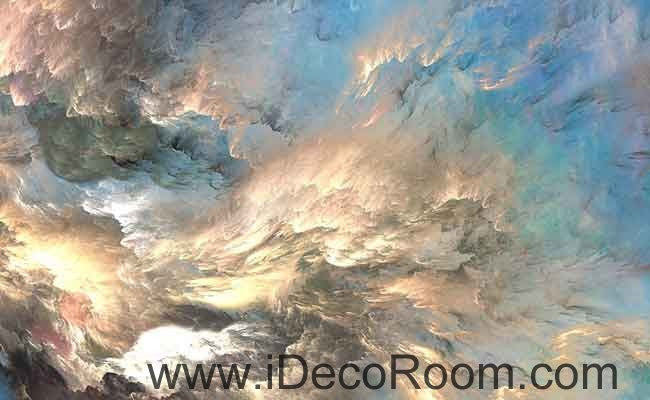 Marble Color Pattern Clouds Wallpaper Wall Decals Wall Art